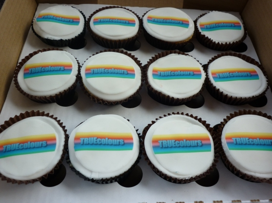 Charity Cupcakes  True Colours ( Tackling Racism amongst young people)