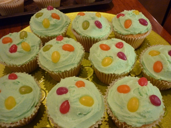 Yummy Jelly bean Cupcakes