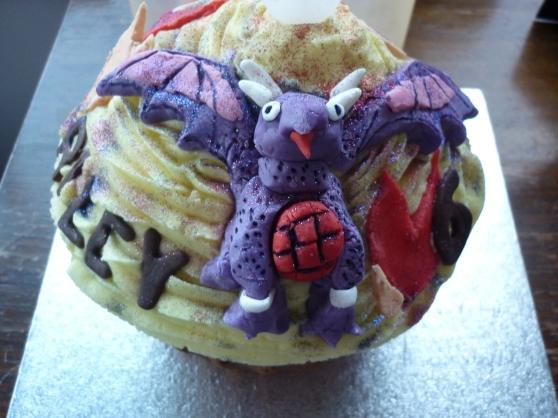 Skylanders Cupcake!