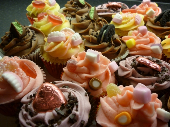 Vintage Sweet Cupcake Collection.