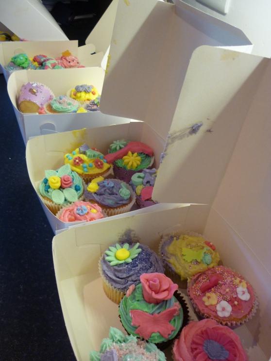 Girls Cupcake Parties