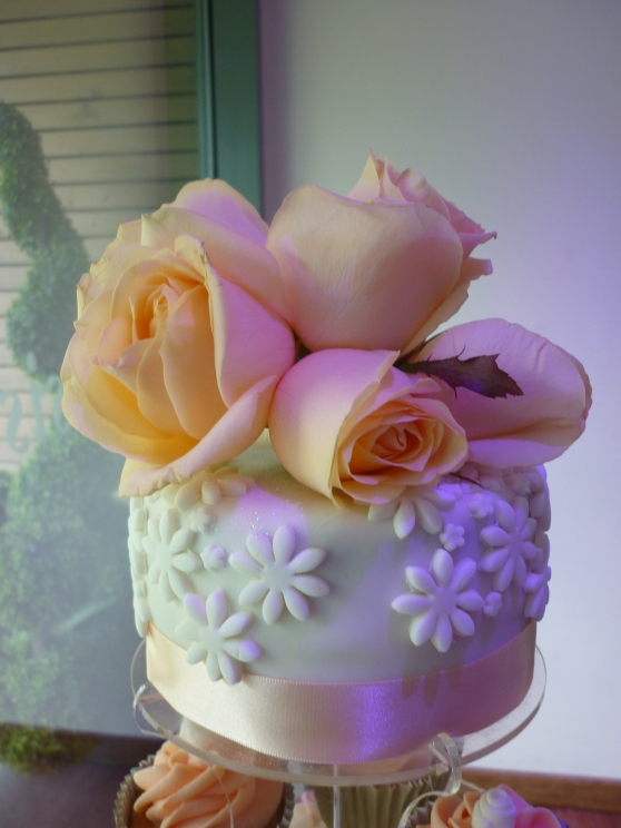 Beautiful Top Teir Wedding Cake