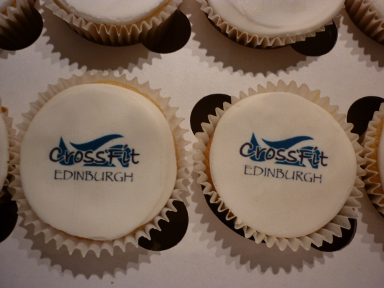 Corporate Cupcakes Edinburgh 2014