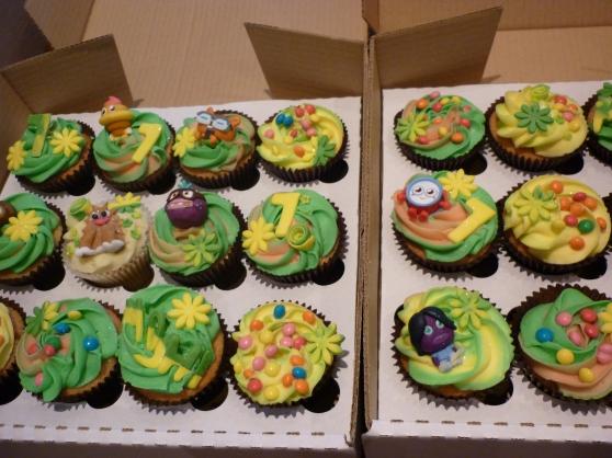 Moshi Monster Cupcakes Edinburgh