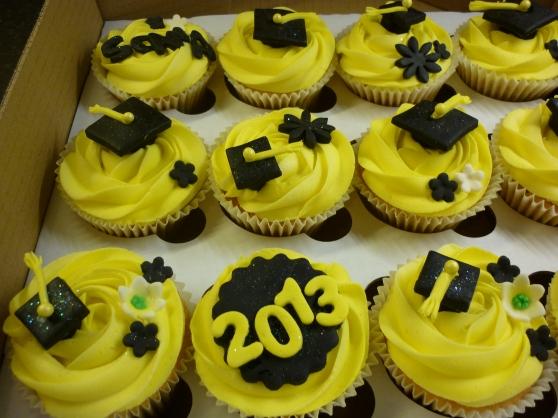 Graduation cupcakes Edinburgh