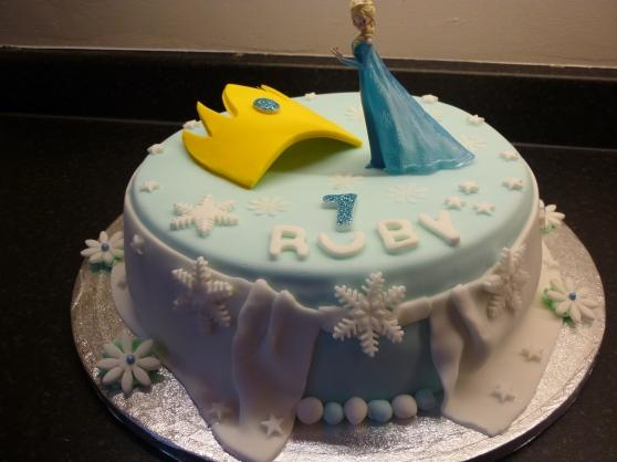Fabulous Frozen Cake